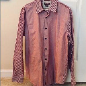 Michael Kors Mixed Stripe Dress Shirt